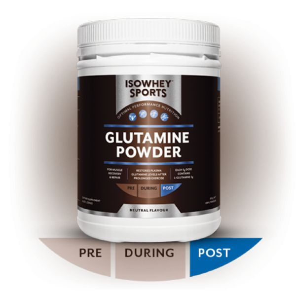 IsoWhey® Sports Glutamine Powder - IsoWhey® Sports - Supplements/Nutrition