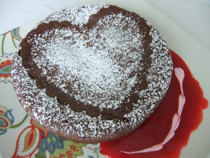 Chocolate Truffle Cake - Rich and moist chocolate cake