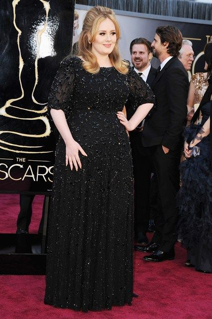Adele   Oscar Dresses 2013