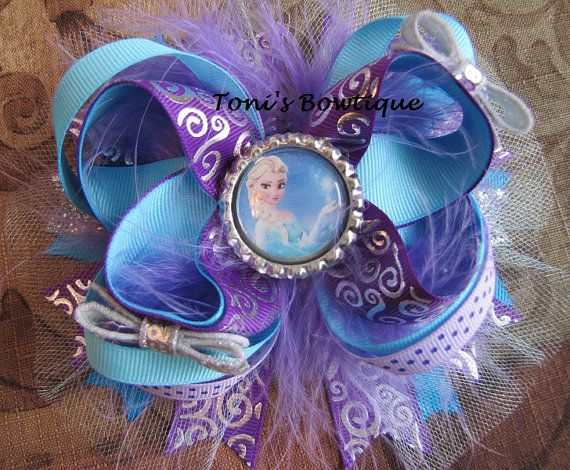 Hey, I found this really awesome Etsy listing at http://www.etsy.com/listing/177179799/frozen-bow-disney-frozen-bow-over-the