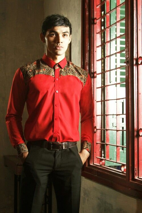 Mavazi menswear, Javanese Batik pattern & fabric for spring - summer