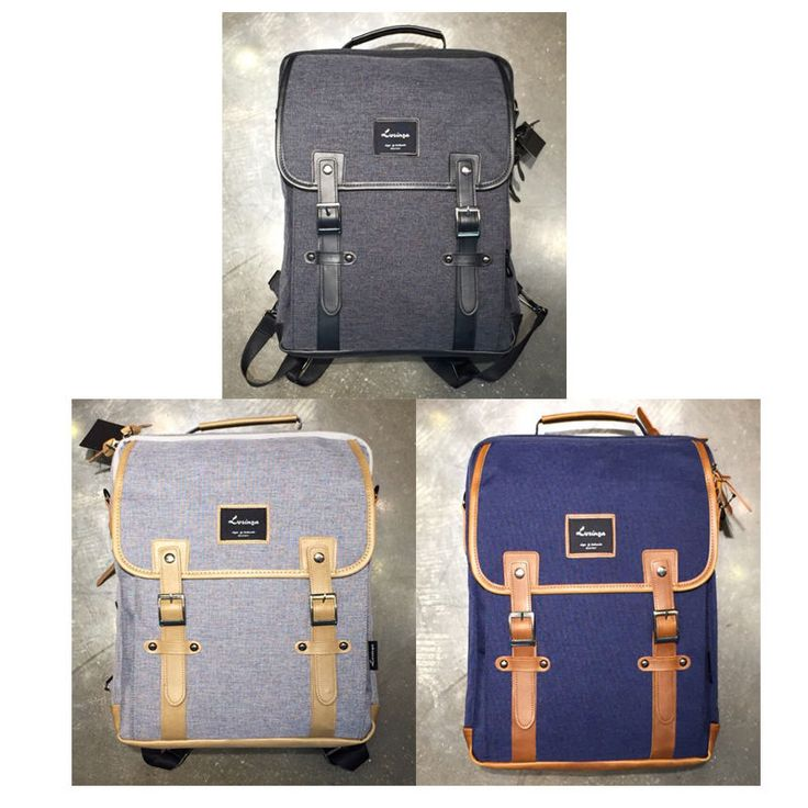 Korea Fashion Men Women Casual Square Normal Backpack School Travel Cross Bag