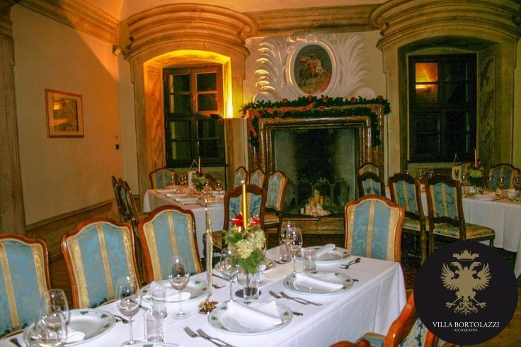 Le #sale di #Villa Bortolazzi