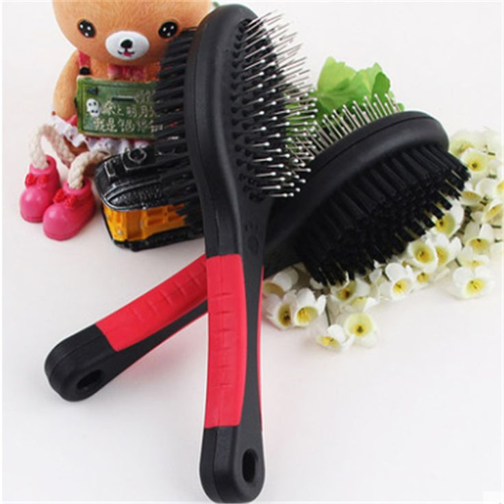 Plastic Comb Pet Dog Health Hair Double Brush Poodle Coloring Brush Comb Spazzola Per Hond Grooming Cat Tick Removal Tool Ddm755 Pet Grooming Long Hair Styles Dog Grooming Supplies
