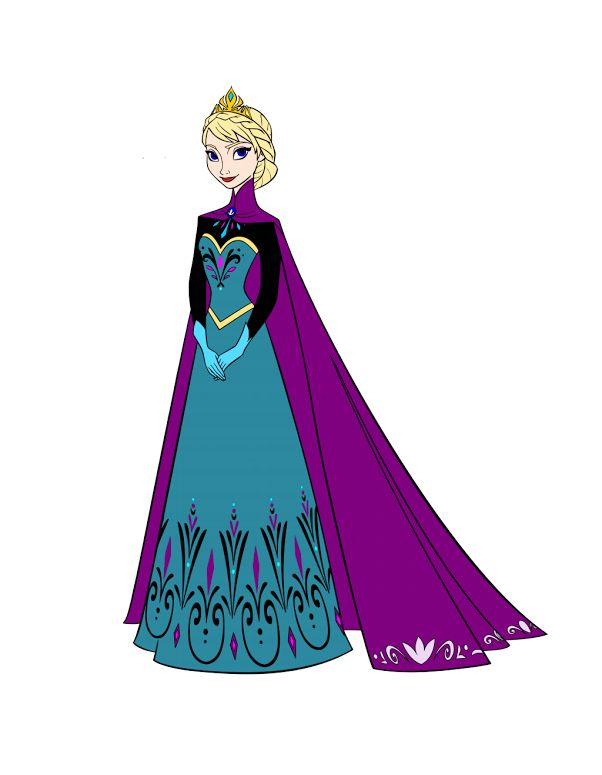 Displaying KraftyNook_FROZEN - Elsa coronation.svg