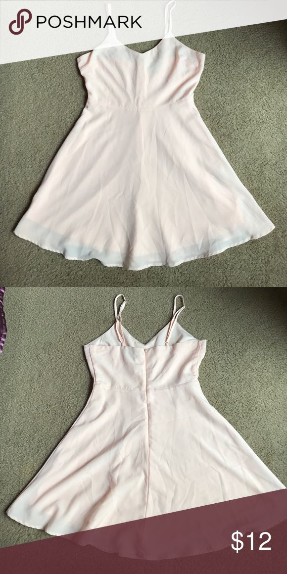 Forever 21 Light Pink Dress Forever 21 light pink dress. The dress looks like it's new or only worm a few times. It's in great condition. Forever 21 Dresses