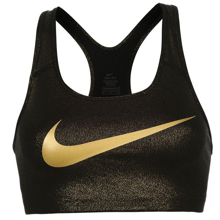Nike | Nike Pro Gold Sports Bra Ladies | Ladies Sports Bras