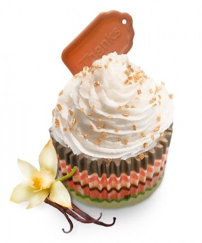 Signature Chocolate creative cupcake soap Cupcake full of decadent chocolate and mocha scents to leave your skin smelling good enough to eat! And crammed with pure dark chocolate over a sweet vanilla base.  This wonderful chocolate soap cupcake is one of the exclusive examples of our Belgian, fine tuning hand-made soap cupcakes.  This deliciously sweet fragrance is a must-have for the bathing needs of a chocoholic.