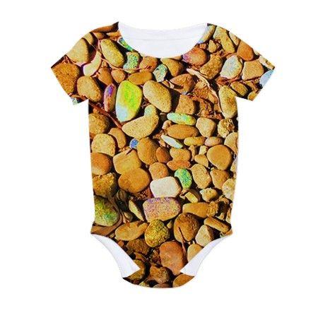 Rock All Over Print Bodysuit on CafePress.com