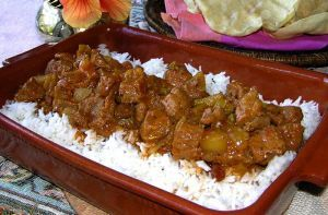 Beef Curry is a delicious food from Cambodia. Learn to cook Beef Curry and enjoy traditional food recipes from Cambodia.