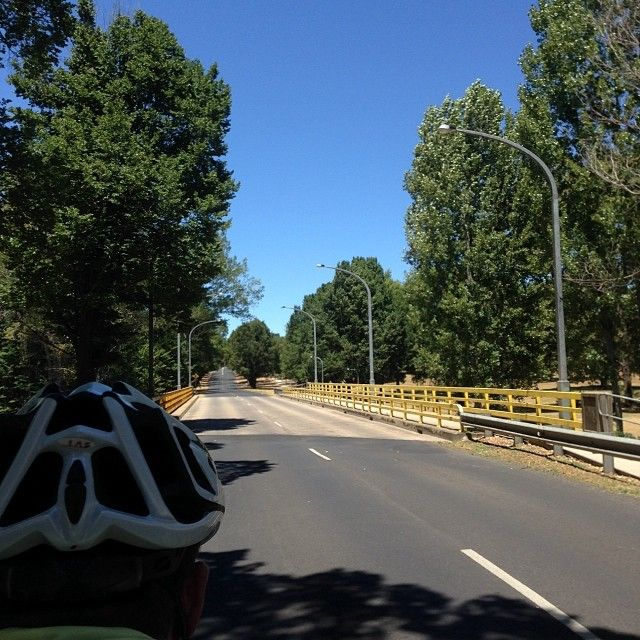 A lovley Armidale day for a ride.
