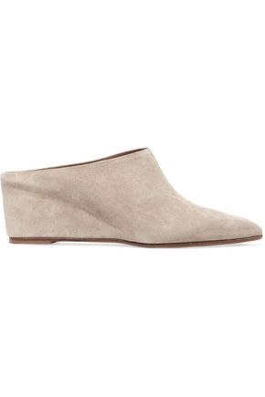 ATP ATELIER ALL TOMORROW'S PARTIES   Suede wedge mules #Shoes #ATP ATELIER ALL TOMORROW'S PARTIES