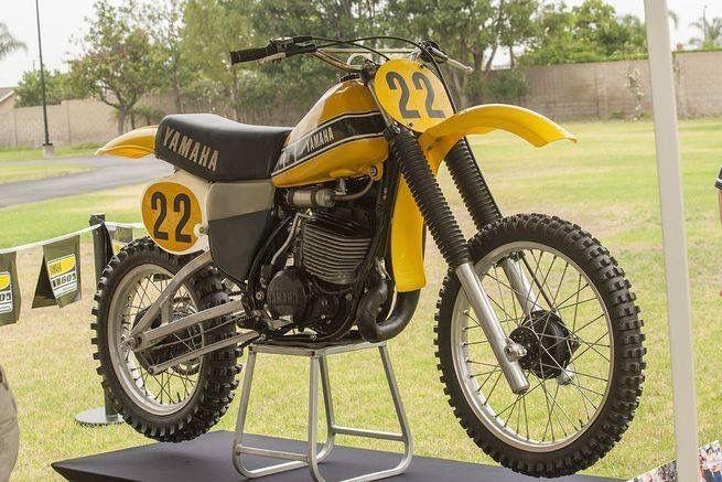 Yamaha 465 Ow Vintage Motocross Motocross Bikes Motocross