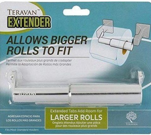 Best Toilet Paper Holder Extender For Big Rolls Toiletroom Toiletdecor Toiletdesign Toiletidea In 2020 Toilet Paper Holder Extender Large Toilets Best Toilet Paper