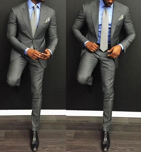 Perfect grey by @davidson_frere #Suituptime