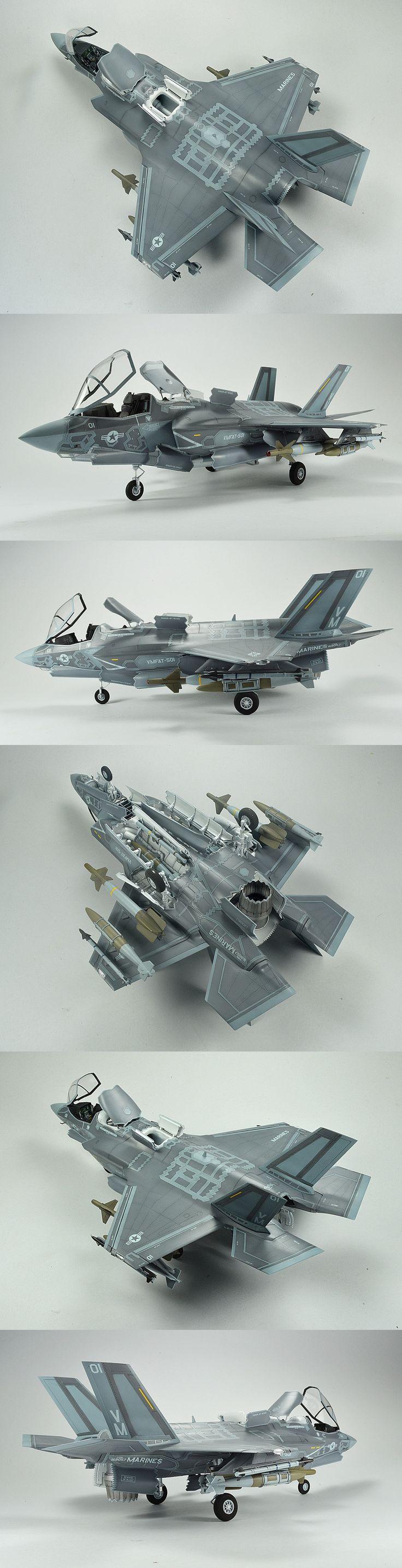 USMC F-35B Lightning II | Unknown Scale