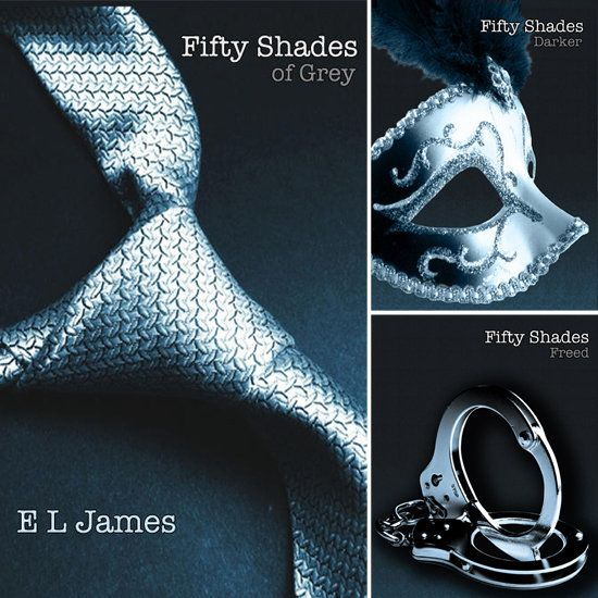 The Fifty Shades Trilogy (Fifty Shades of Grey, Fifty Shades Darker, and Fifty Shades Freed): Such good books. Very naughty, but very sweet too. But VERY naughty :) Love the email conversations the best.