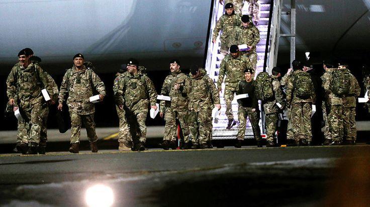Logique de l'OTAN : les troupes britanniques en Estonie – bien, les soldats russes en Russie – mal