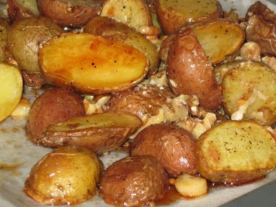 Qu'est-ce qui mijote chez Nance: Pommes de terre grelot roties à l'érable