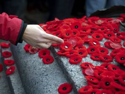 Give pause on Remembrance Day