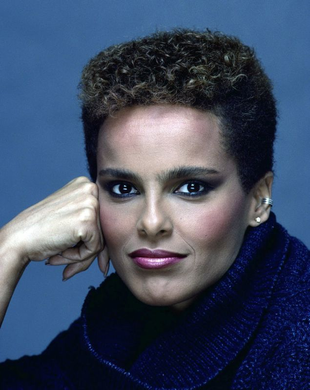 Shari Belafonte, American actress, model, & singer. She is known for her role as Julie Gilette on the TV series Hotel & as a spokesperson for Slim-Fast & Bally's. She starred in If You Could See What I Hear, Velvet, & co-hosted the series Lifestyles with Robin Leach and Shari Belafonte. As a model, she appeared on over 300 magazine covers as well as in Calvin Klein ads. She also posed for Playboy. She is a graduate of Carnegie-Mellon University, and is the daughter of Harry Belafonte.