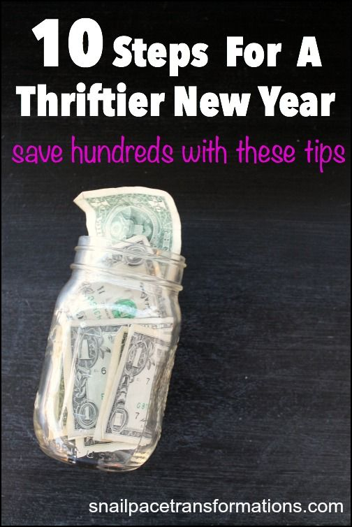 Follow these 10 steps and save 100s, possibly 1000s of dollars over the course of the New Year. These are simple money saving steps that can really add up!