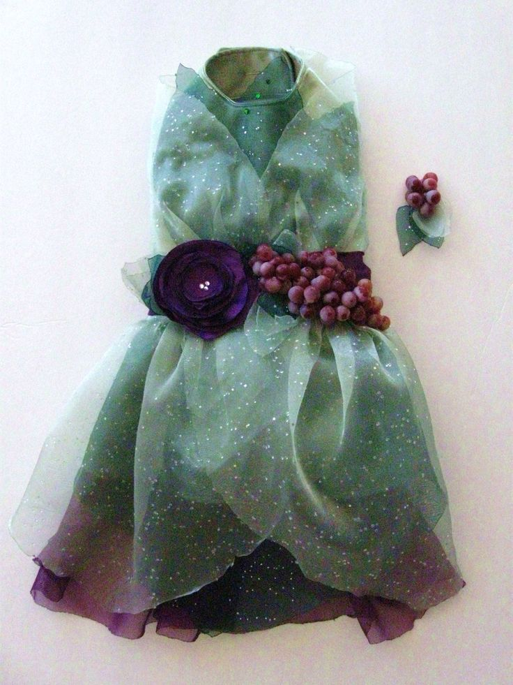 Vineyard Fairy Dog Dress by KOCouture on Etsy, $200.00