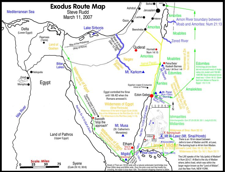 Best MAPS Images On Pinterest Holy Land Bible Studies And Egypt - Map of egypt during exodus