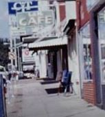 L&M  Cafe - cropped from 1970's photo belonging to Bill Jakes.