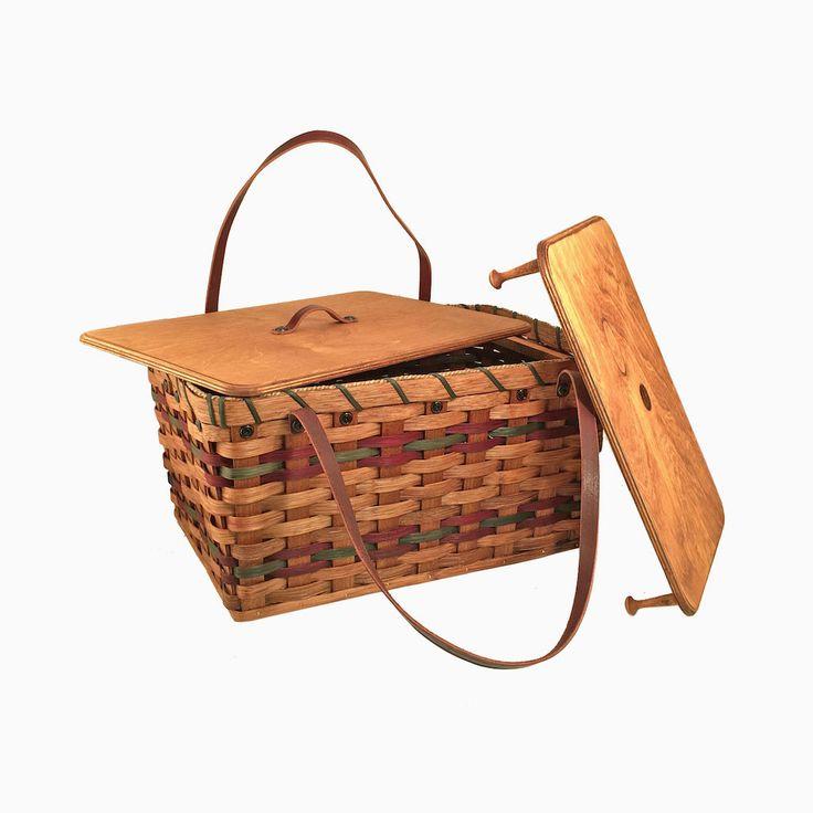 Amish Made Traditional Picnic Basket