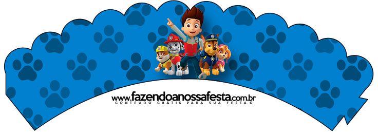 Paw Patrol: Imprimibles Gratis para Fiestas.
