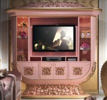 The wall under the TV IM338 Imperial Cappelletti Classic furniture wall TV…