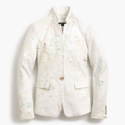 Limited-edition perfect shirt in paint splatter : Women Limited-Edition Paint-Splattered Collection | J.Crew