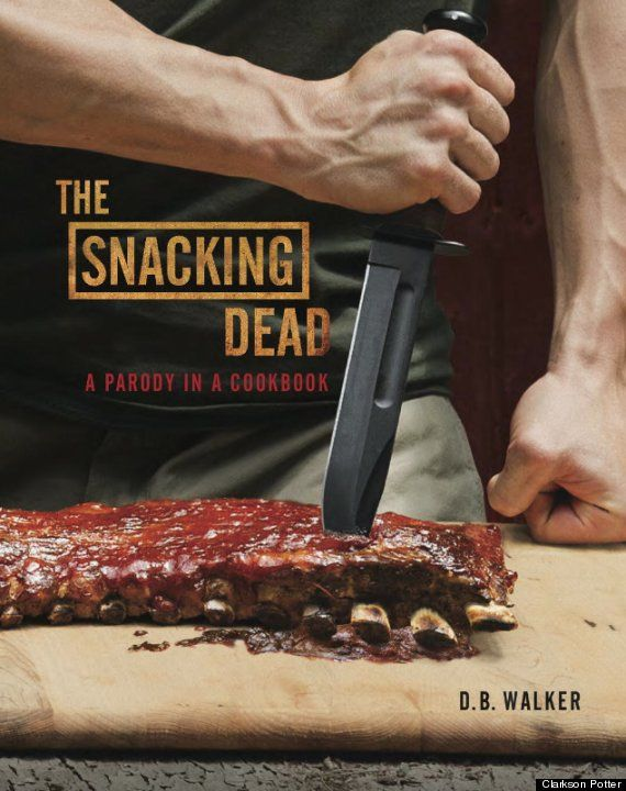 'The Snacking Dead' Book Trailer Features Homemade Pizza, Zombies: Parodi Cookbook, Books, Walks Dead, Gifts Ideas, Walking Dead, Holidays Gifts, Walker, Snacks Dead, Dead Cookbook