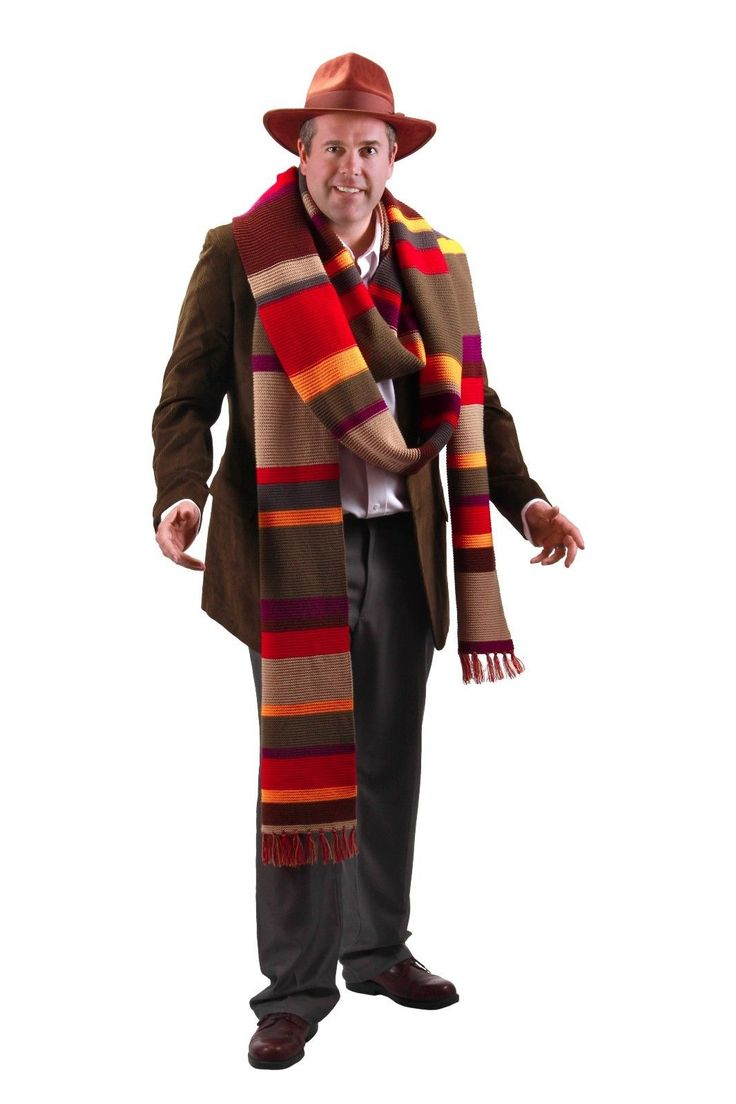 Comfy chairs doctor who - Boas Scarves And Leis 175643 Doctor Who Licensed Fourth Doctor 17 Foot Premium Knit Multi