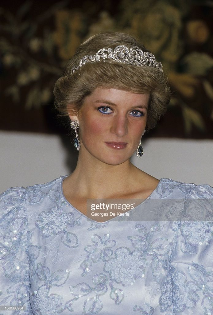 Diana, Princess of Wales (1961 - 1997) during a visit to Munich on November 5, 1987.