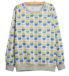 Aliexpress.com : Buy 20 Styles Flower Print Lace O Neck Full Sleeve Sweatshirt Hoodies Emoji Harajuku Totoro Kawaii Polerones Mujer Moleton Feminino from Reliable Hoodies & Sweatshirts suppliers on China Pets' Mart Company | Alibaba Group