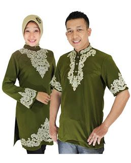 Baju Muslim Pasangan - Ada kalanya pasangan kekasih atau suami istri ingin memakai baju muslim pasangan di acara atau moment-moment tertentu.