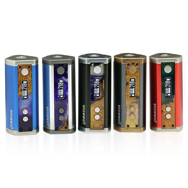 The Sigelei Snow Wolf 218 joins the family of truly innovative MODS by Sigelei. The Snow Wolf features a triple 18650 MOD capable of firing up to 218 Watts with a highly intelligent chipset manufactured by Sigelei. This MOD features a highly effective temperature control module capable of firing heating elements such as Ni200, Titanium, Stainless Steel and an incredible atomizer sensing technology alongside TCR technology (Temperature Coefficient of Resistance. Surrounded by a beautiful…