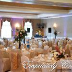 Chair covers Greensburg Country Club by Exquisitely Covered
