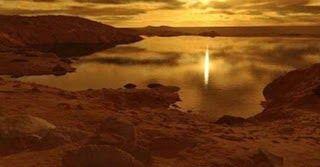 Η γιγαντιαία λίμνη στον βόρειο πόλο του Τιτάα - Στους 181 βαθμούς η θερμοκρασία και δεν έχει νερό σε υγρή μορφή