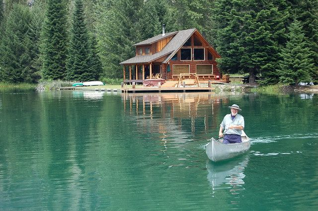 Pin by Steve Weber on cabins  Lake cabins Log cabin