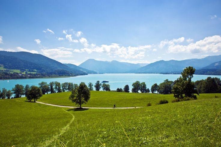 Tegernsee in Beieren Duitsland