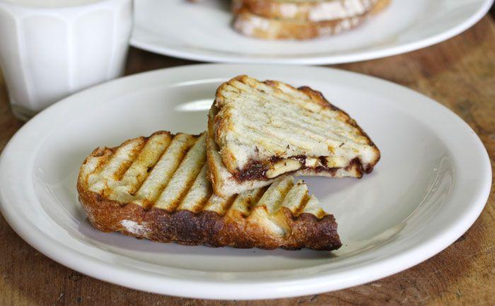 Croque Nutella-banane