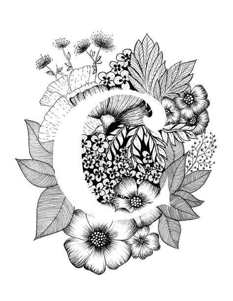 best 25  letter c tattoo ideas on pinterest