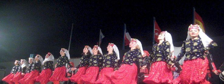 Το χορευτικό συγκρότημα Kartal από την Κωνσταντινούπολη.