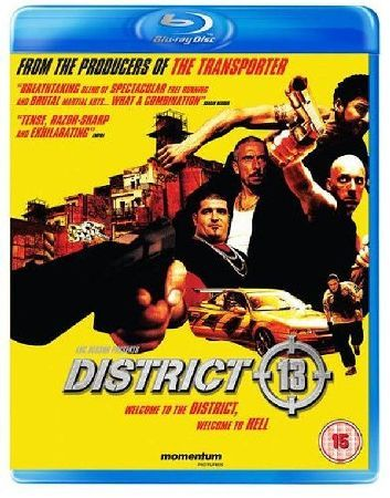 District 13 Futuristic French action produced by Luc Besson. In the year 2010 the violent ghettoes of Paris have been walled off from the main city the worst of these being District 13. When gang warfare breaks o http://www.MightGet.com/january-2017-12/district-13.asp