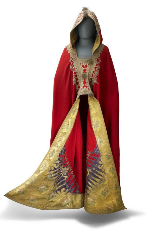 An Egyptian-style cloak was worn by Napoleon the night before the battle of Waterloo, 1815