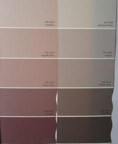 Nuancen Von Altrosa Und Grau Fr Stilvolle Farbkombination WandfarbeWohnzimmer