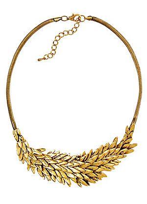 2 Piece Spiky Feather Necklace & Bracelet Set #kaleidoscope #jewellery